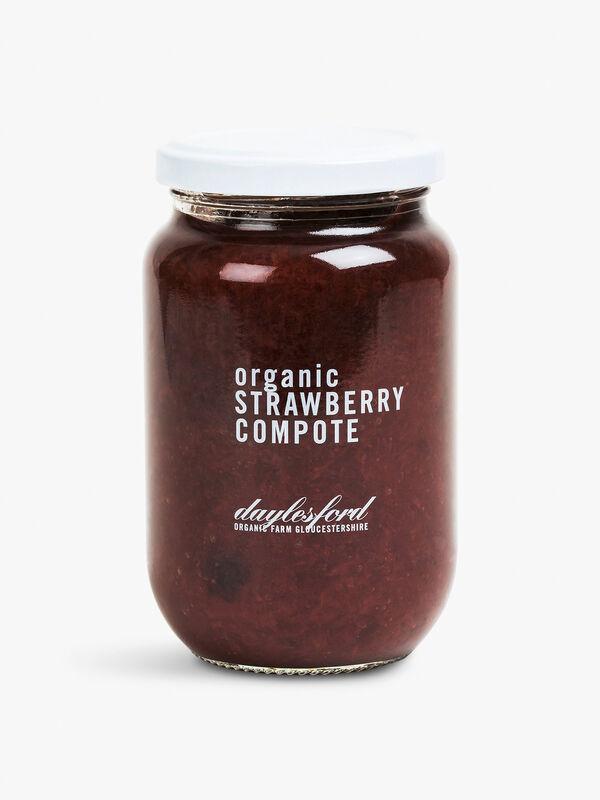 Organic Strawberry Compote  385g