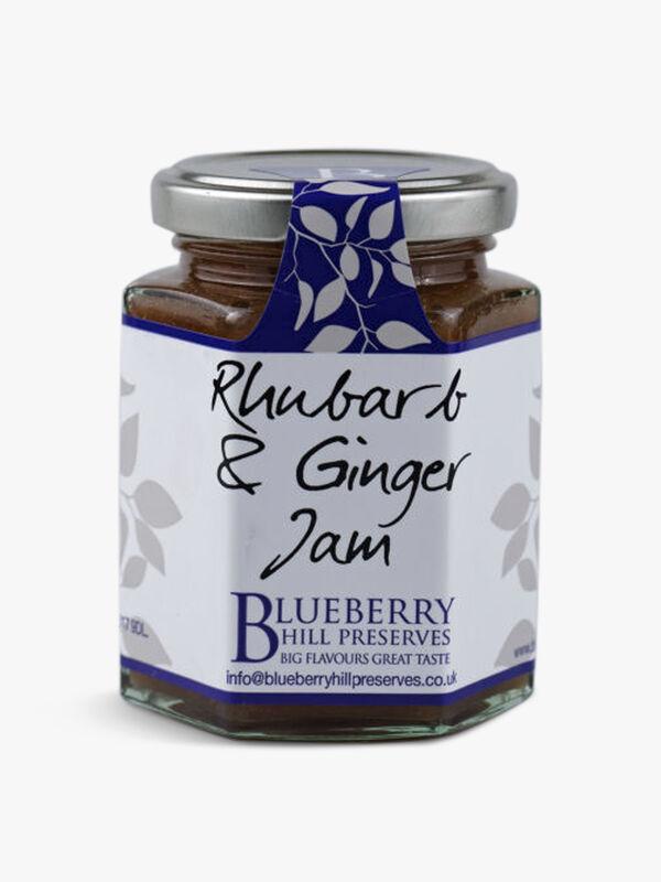 Rhubarb & Ginger Jam  225g