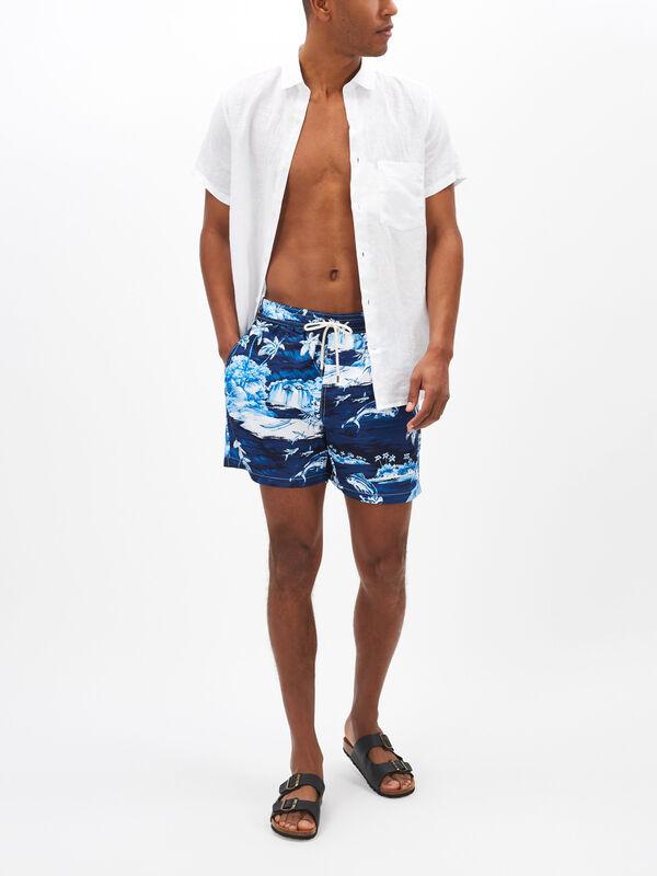 Hawaiian Traveller Swim Shorts