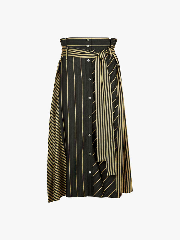 Two Pattern Combination Skirt