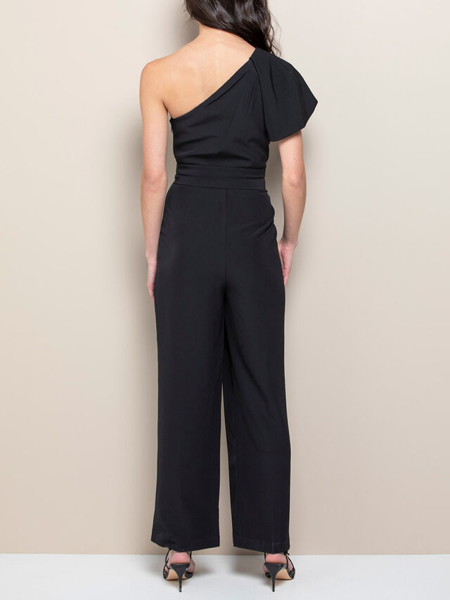 Cassandra One Shoulder Jumpsuit