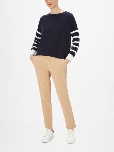 Knitted-Striped-Long-Sleeve-Sweater-102ME1N93