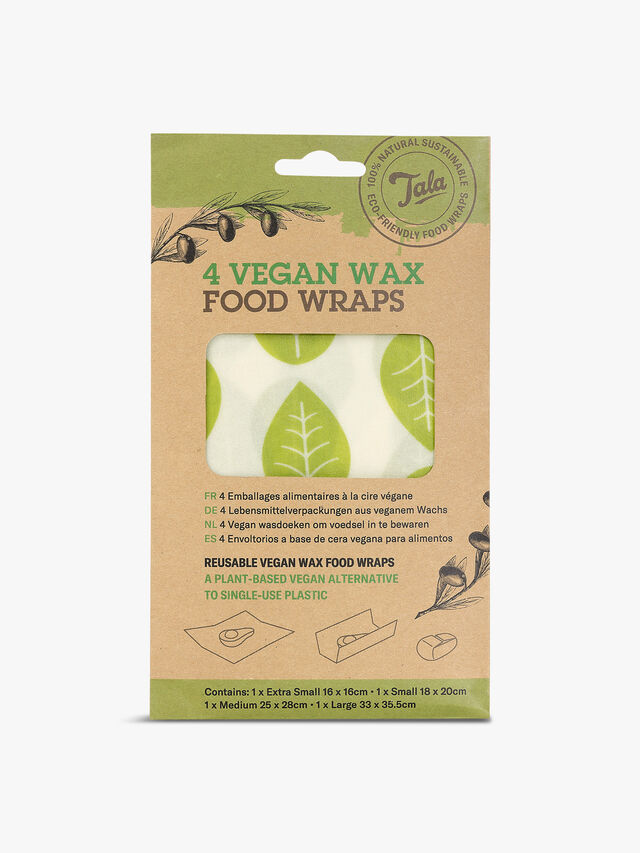 Vegan Wax Wrap 4 Piece