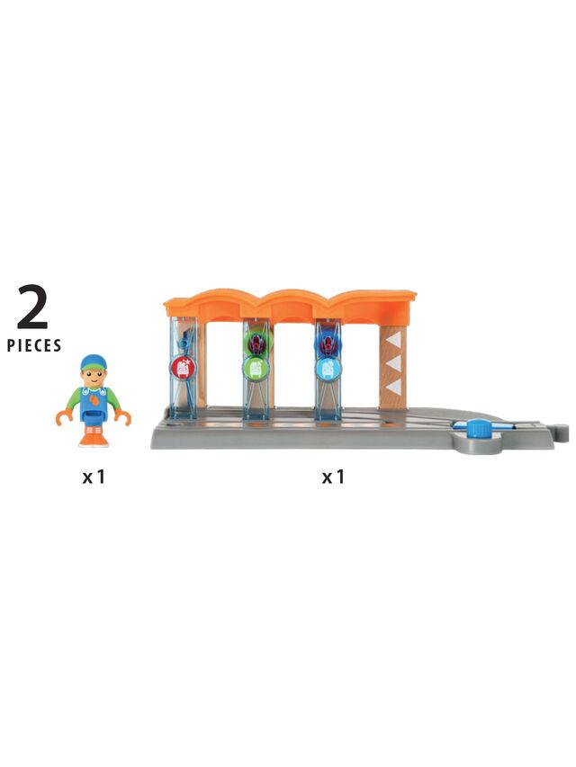 Smart Tech Railway Washing Station
