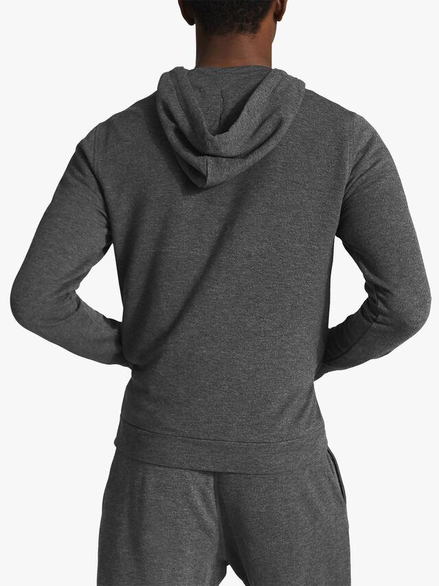Greg Melange Zip Through Hoodie