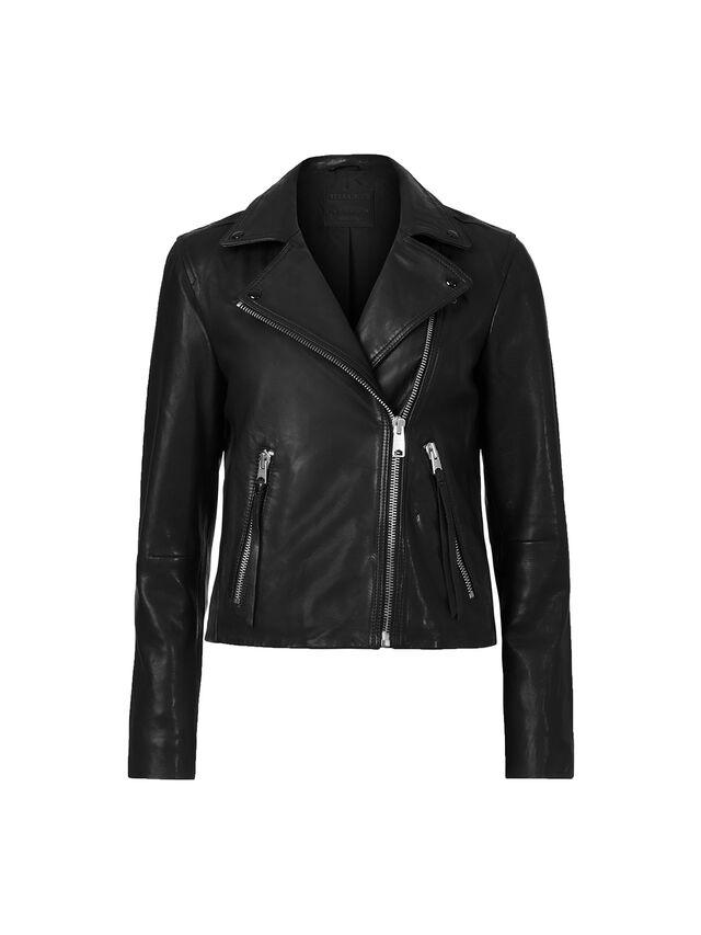 Dalby Leather Biker Jacket
