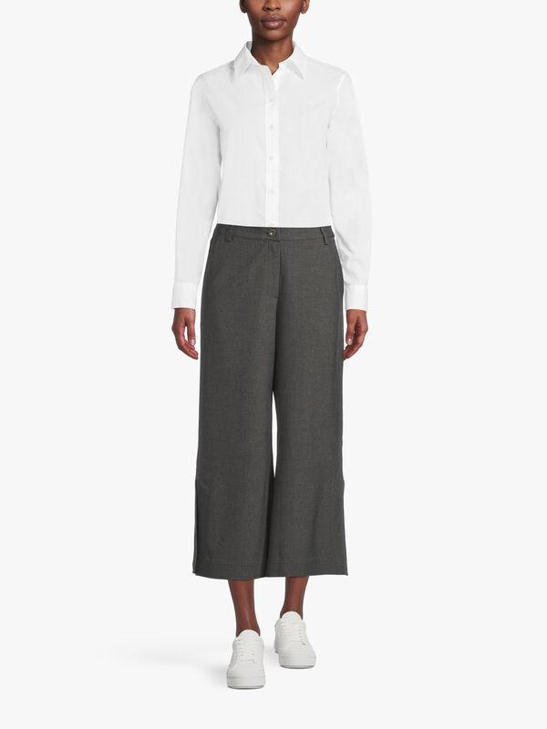 Flannel Crop Trouser