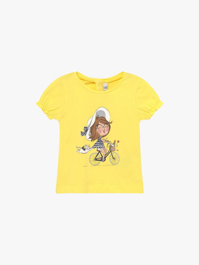 Girl on a Bike T-Shirt