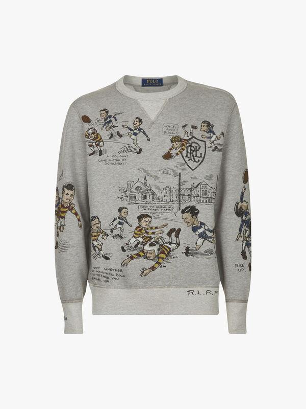 Fleece Graphic Sweatshirt