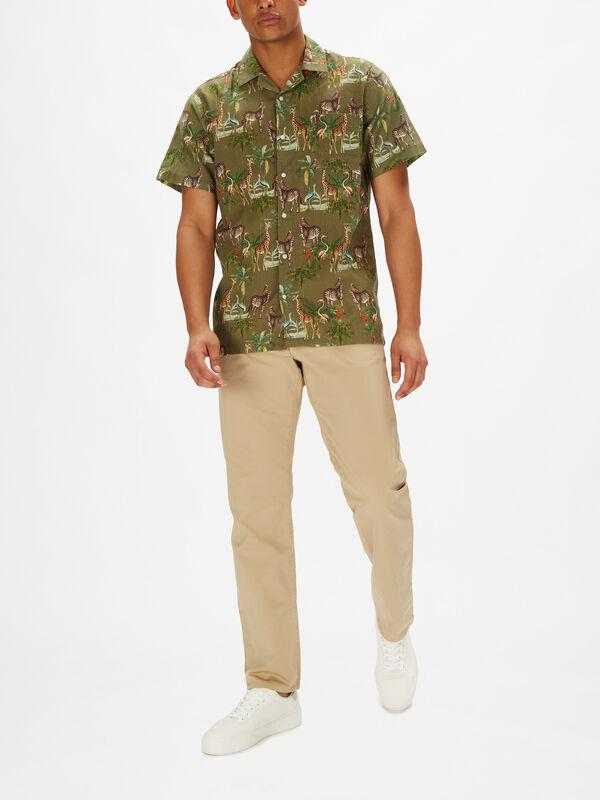 Shortsleeve Zebra Shirt