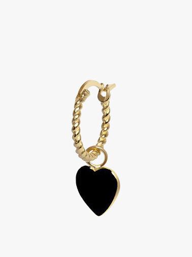 Heart Rope Earring