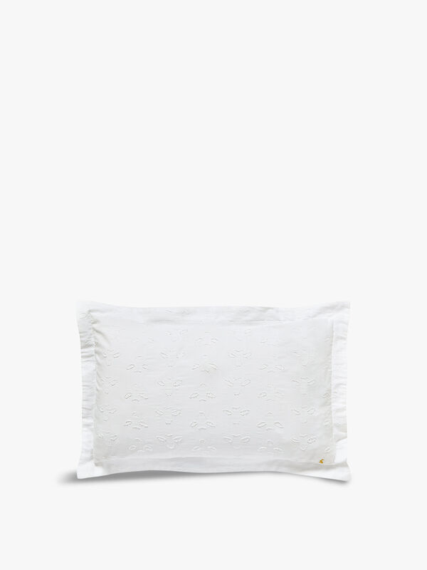 Botanical Bee Clipped Oxford Pillowcase