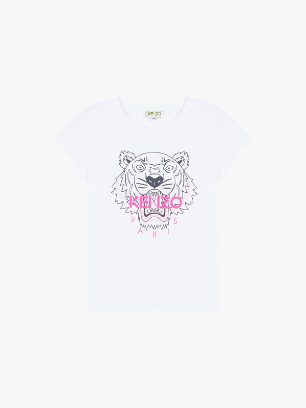 Tiger printed Logo T-Shirt