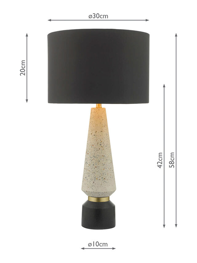 Onora Terrazzo Table Lamp