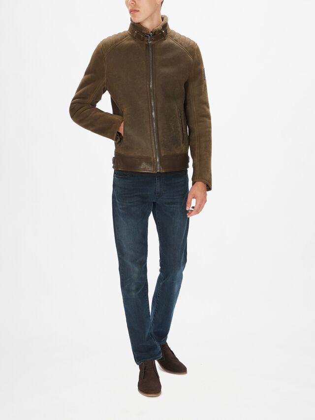 Westlake Shearling Leather Jacket