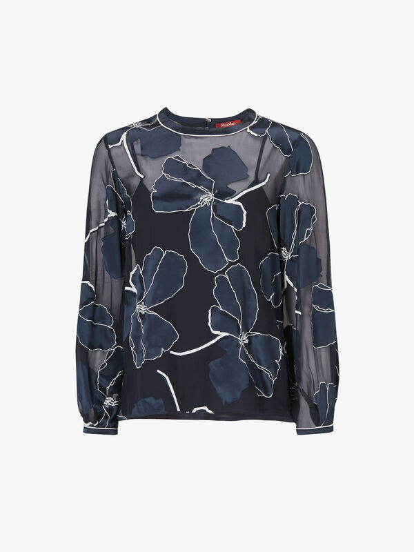 Manco Silk Floral Top