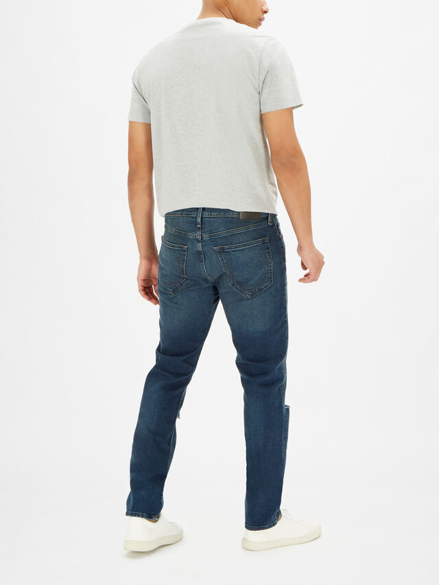 Rocco Knee Slit Jeans