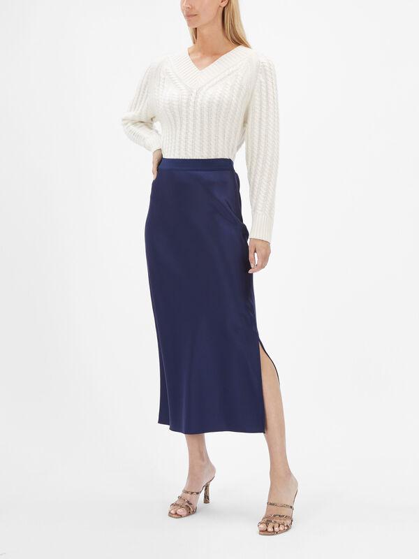Maxi Slip Skirt