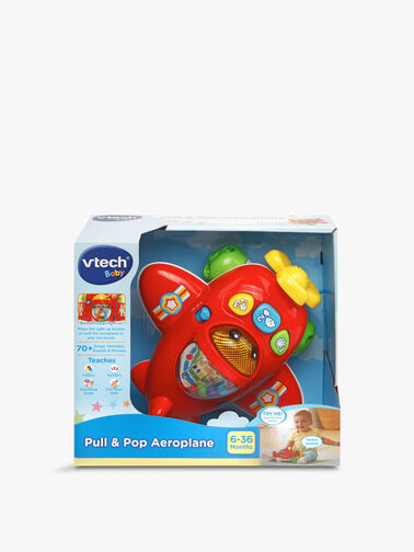 Pull & Pop Aeroplane