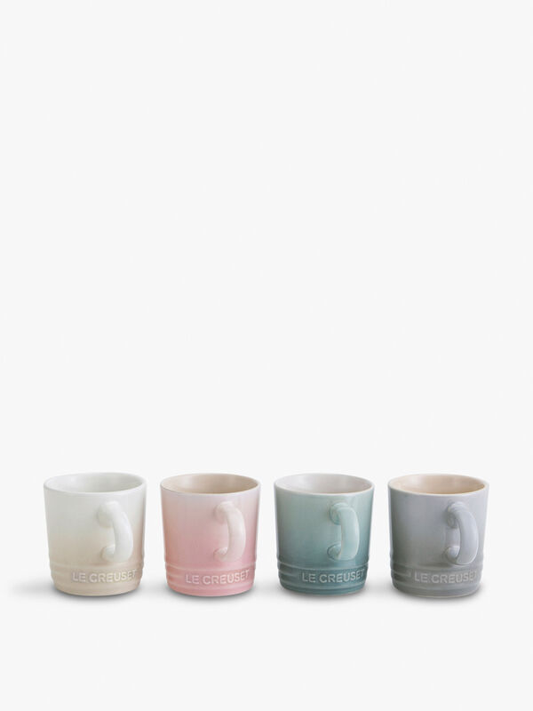 Calm Collection Set of 4 Mugs 100ml