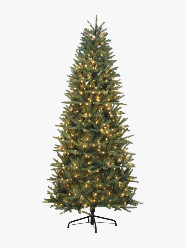 Prelit Slim Fraser Fir Christmas Tree