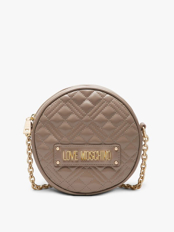 Quilted Round Crossbody