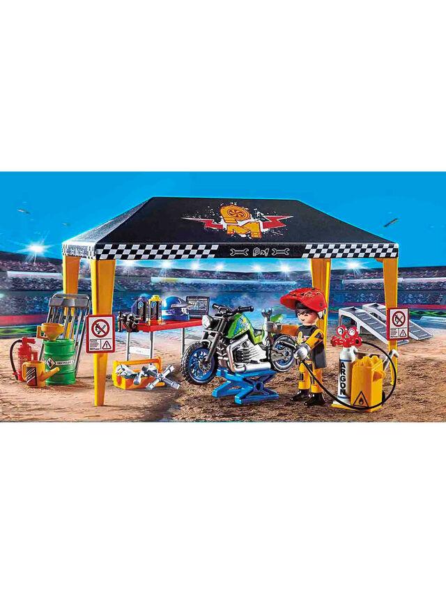 Stunt Show Service Tent