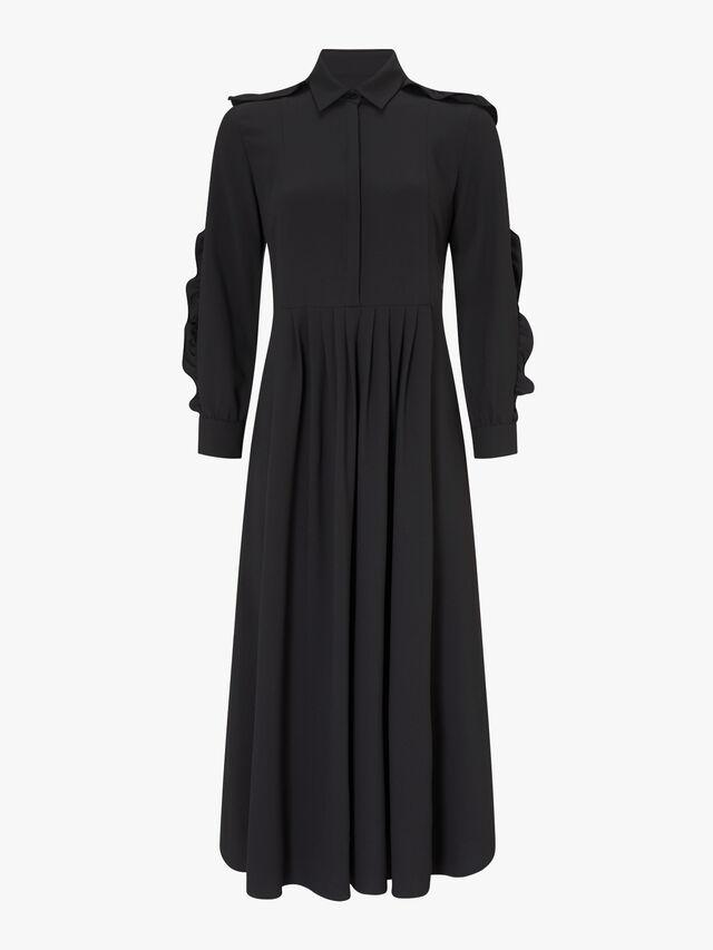 Nervo Belted Midi Dress