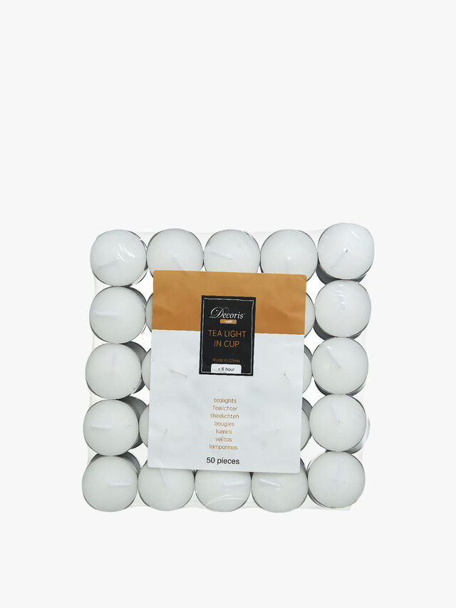 Tealight Wax Set of 50