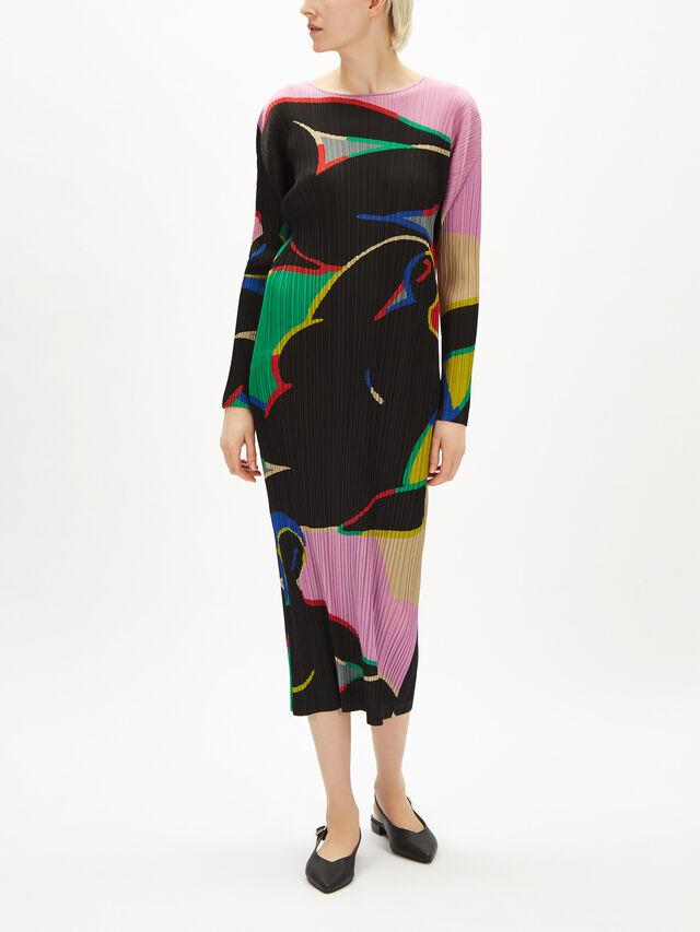 Relaxing Print Dress