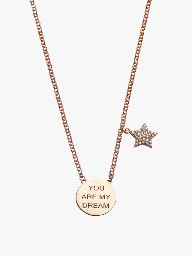 You Are My Dream Star Necklace
