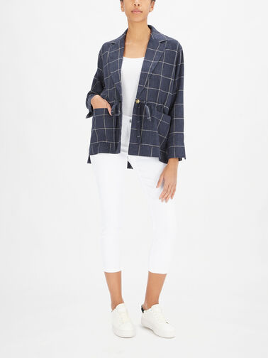 Jaffa-V-Neck-Linen-Check-Shacket-w-Tie-Waist-1002833