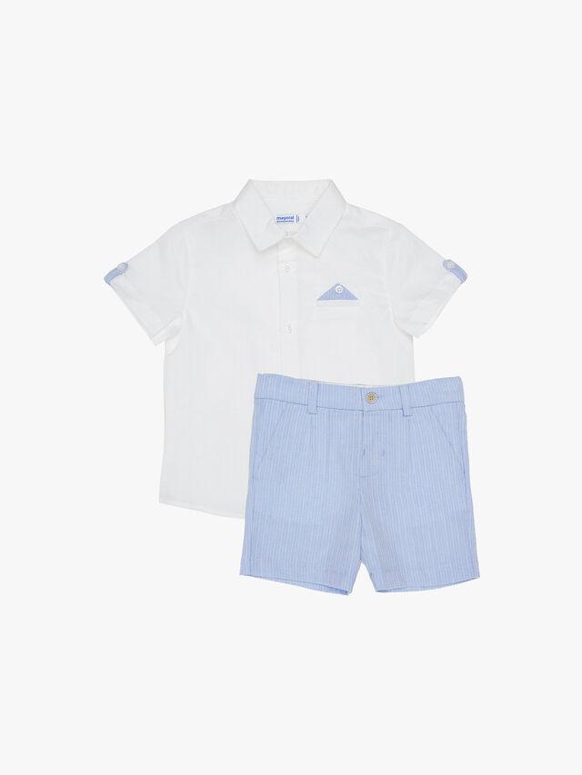 Smart Shirt and Shorts Set