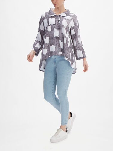 Abstract-Shape-Print-Linen-Jacket-w-Dip-Hem-71173-L257P2151