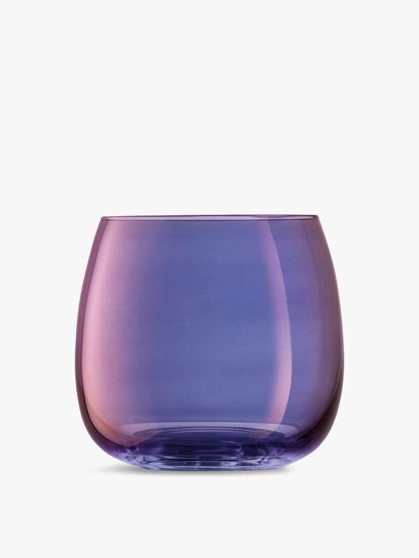 Aurora Stemless Glass 370ml Set of 4
