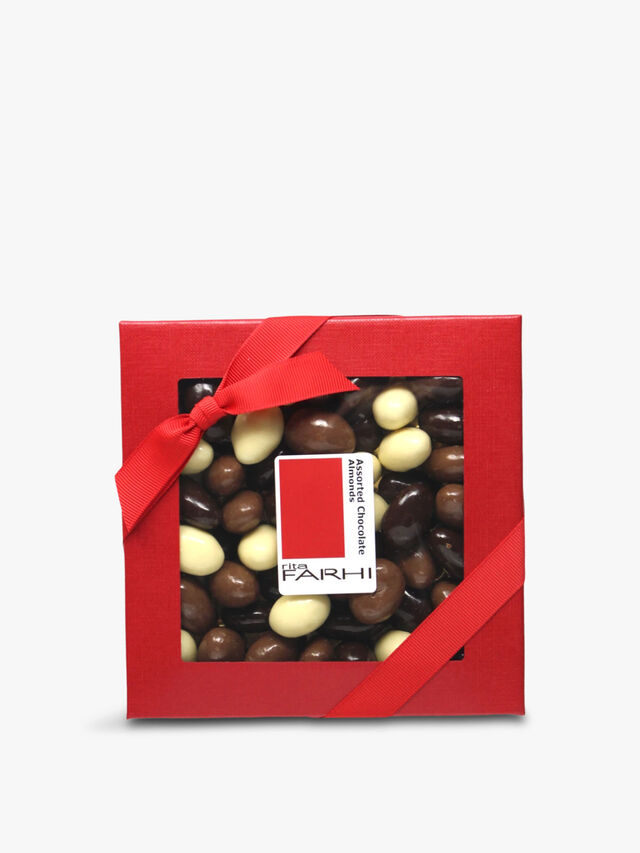 Assorted Chocolate Almonds 210g