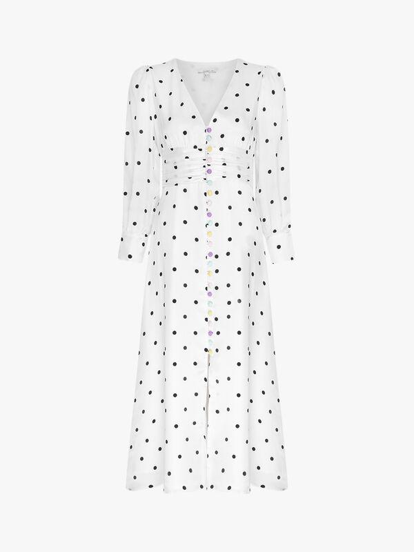 Valentina Polka Dot Dress