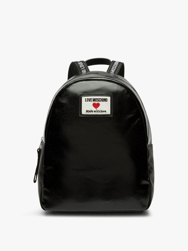 Canvas Love Moschino Backpack