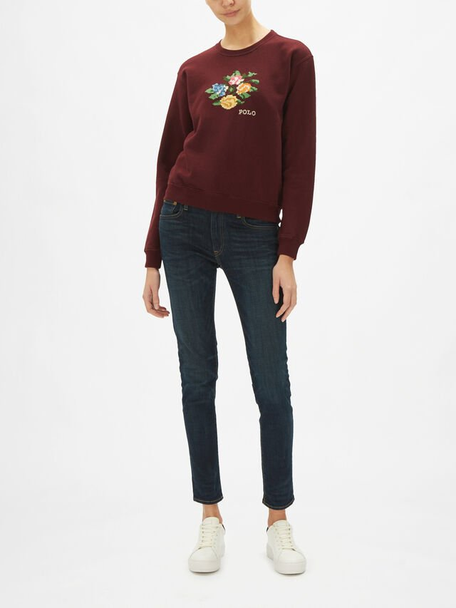 Floral Long Sleeve Jumper