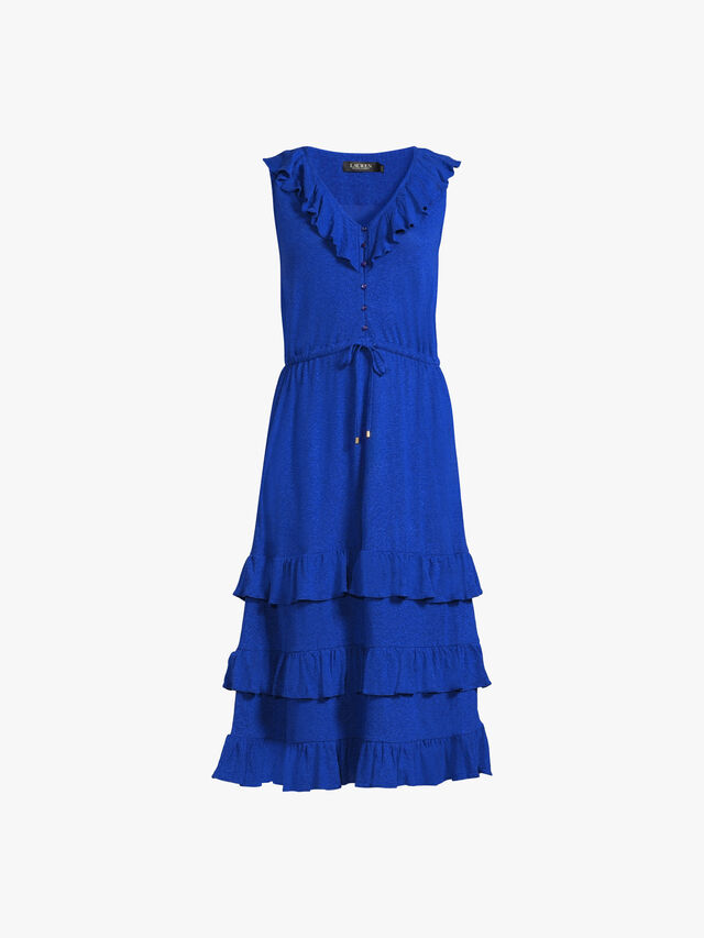 Dontae Dress With Ruffle Hem