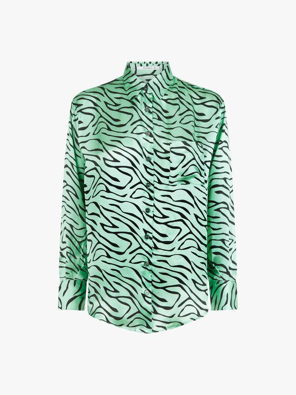 Iris Zebra Shirt