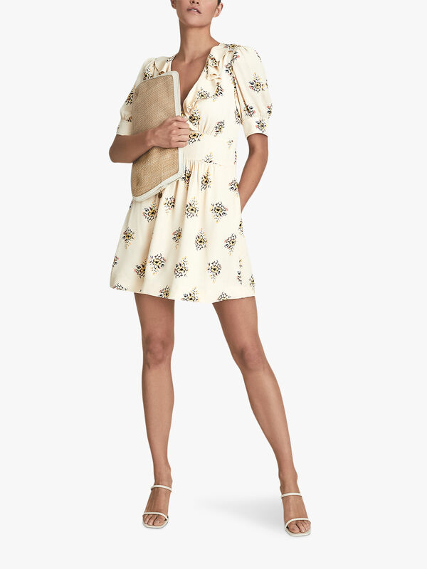 OLIVE Floral Printed Mini Dress