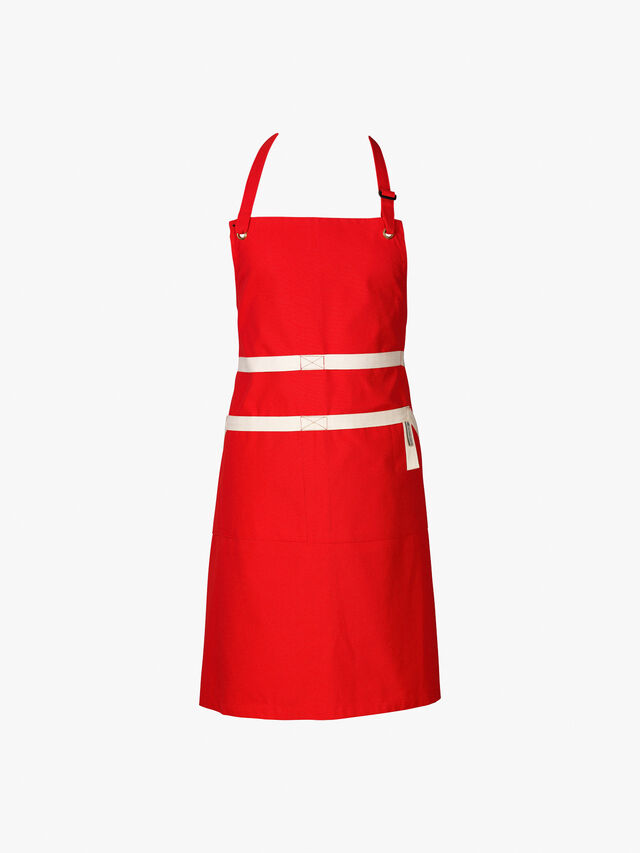 Chefs Apron Red