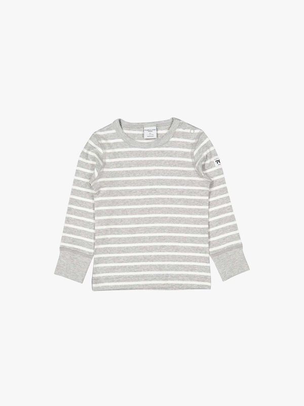 Striped GOTS Organic Baby Top