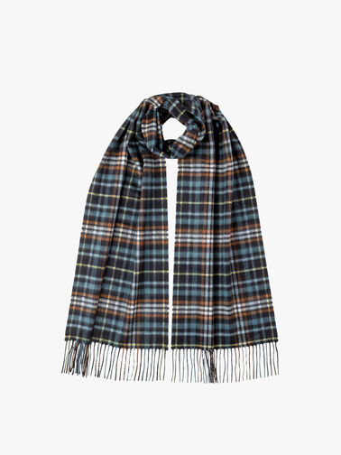 Sports Check Cashmere Scarf