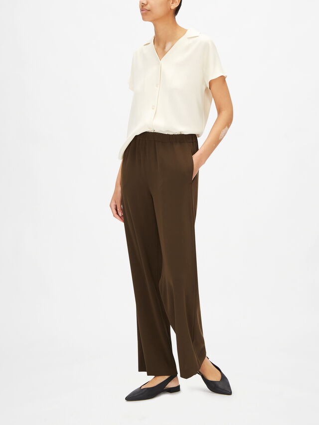 Elasticated Waist Relaxed Trouser