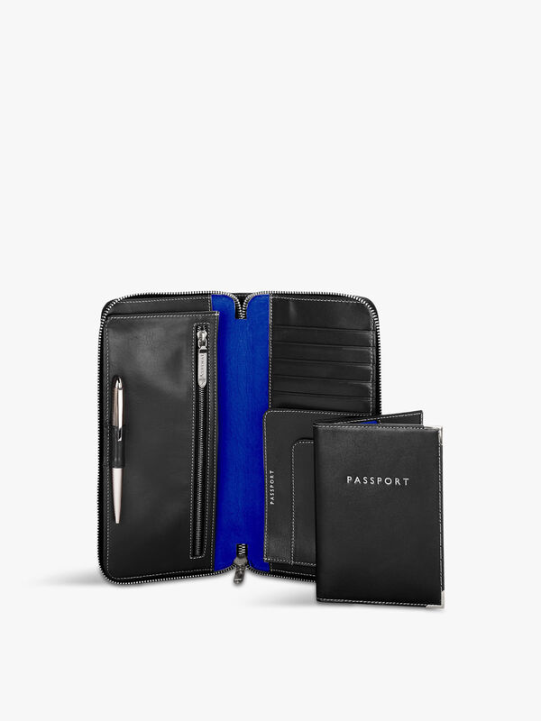 Zipped Travel Wallet and Passport Cover