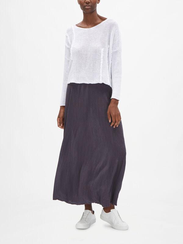 Drop Shoulder Linen Knit