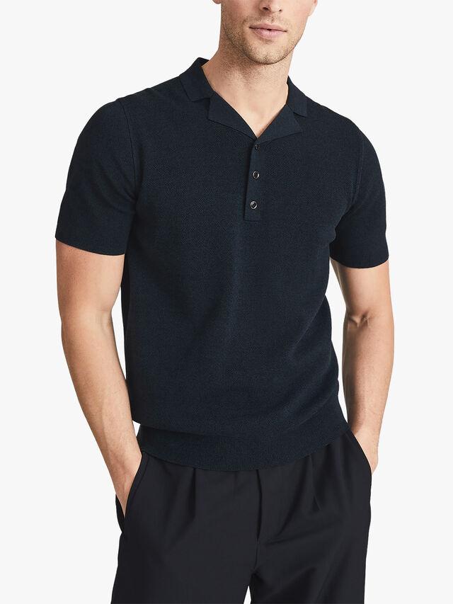 Hali Cuban Collar Polo Shirt