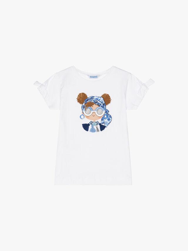 Girl with Headband T-Shirt